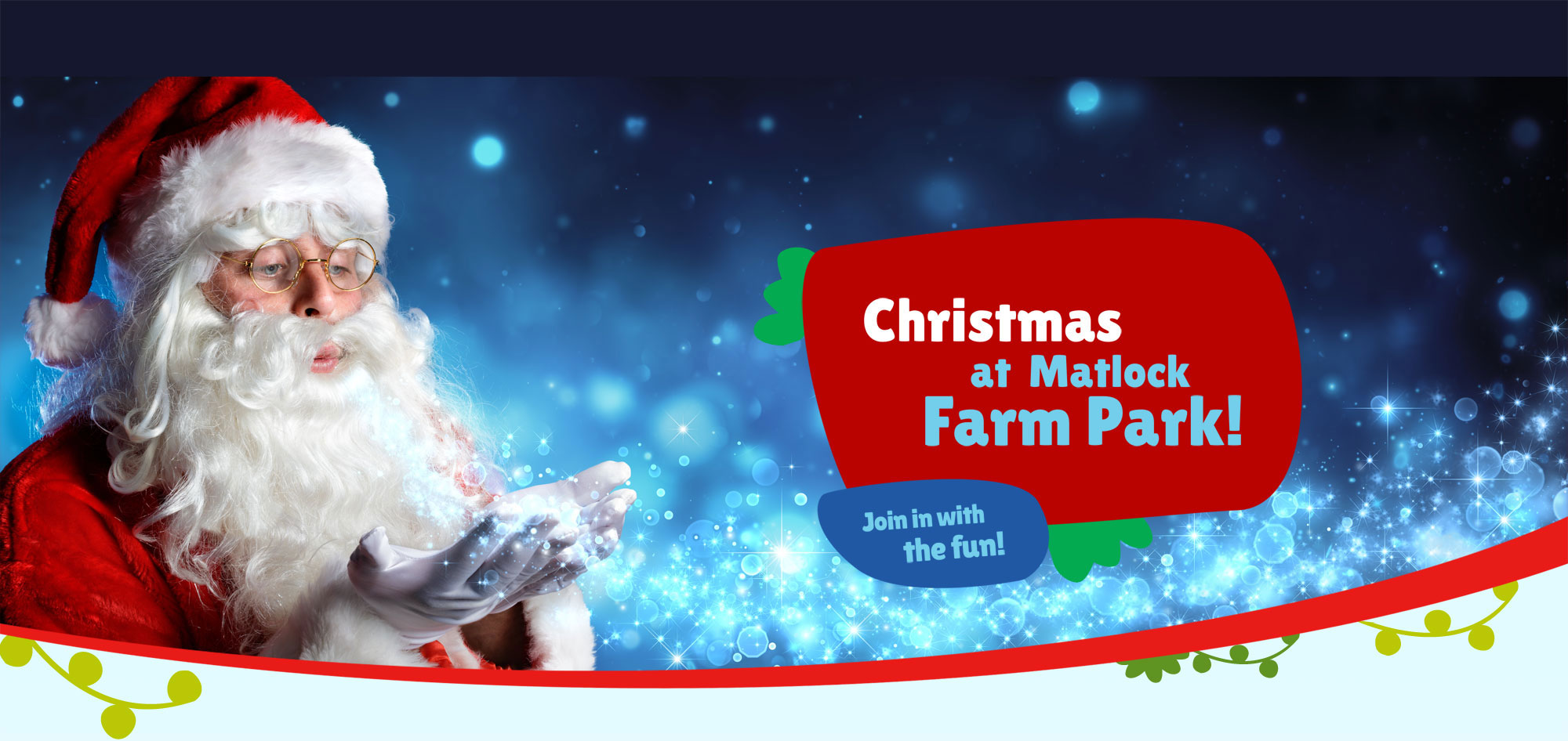 Christmas at Matlock Farm Park