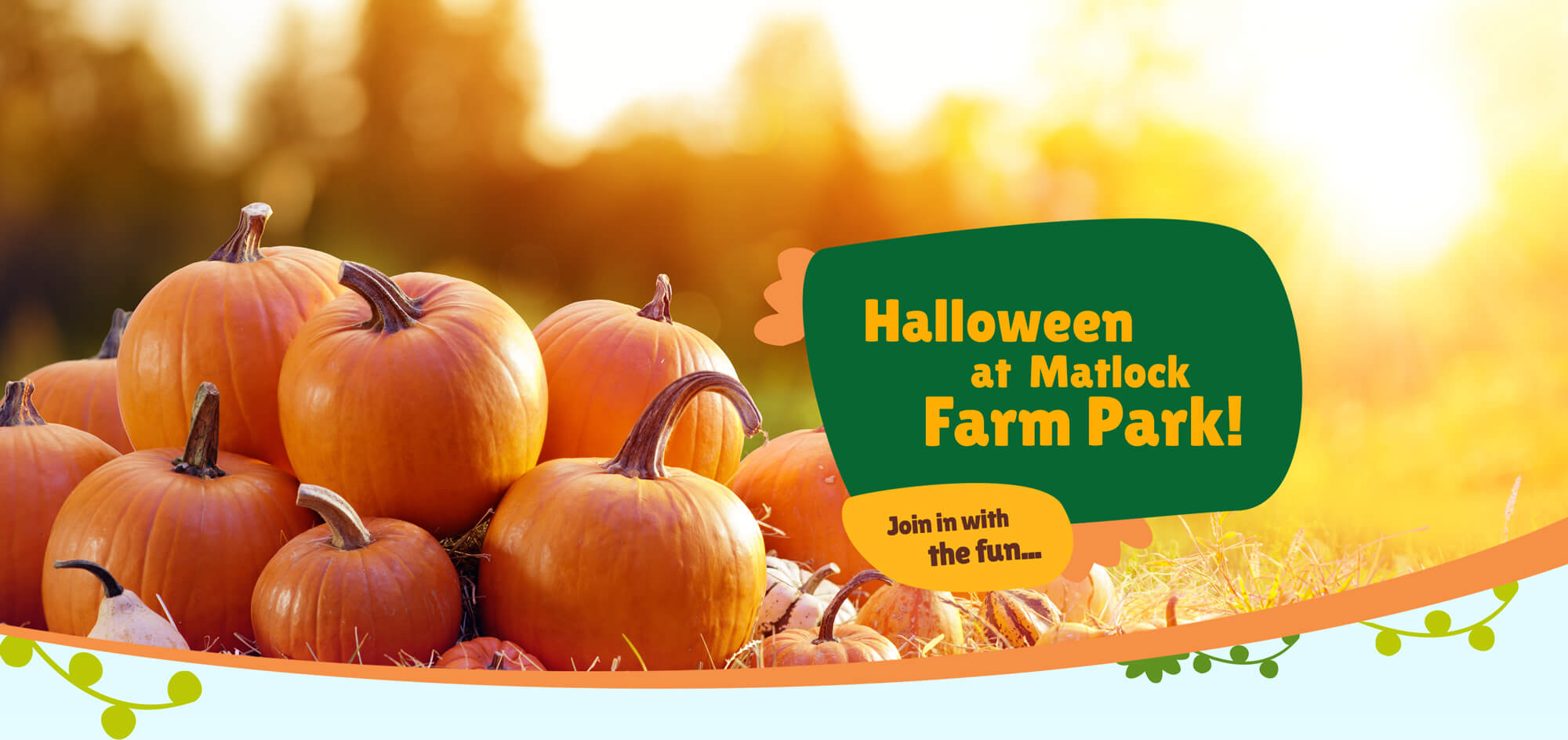 Be a friend of Matlock Farm Park