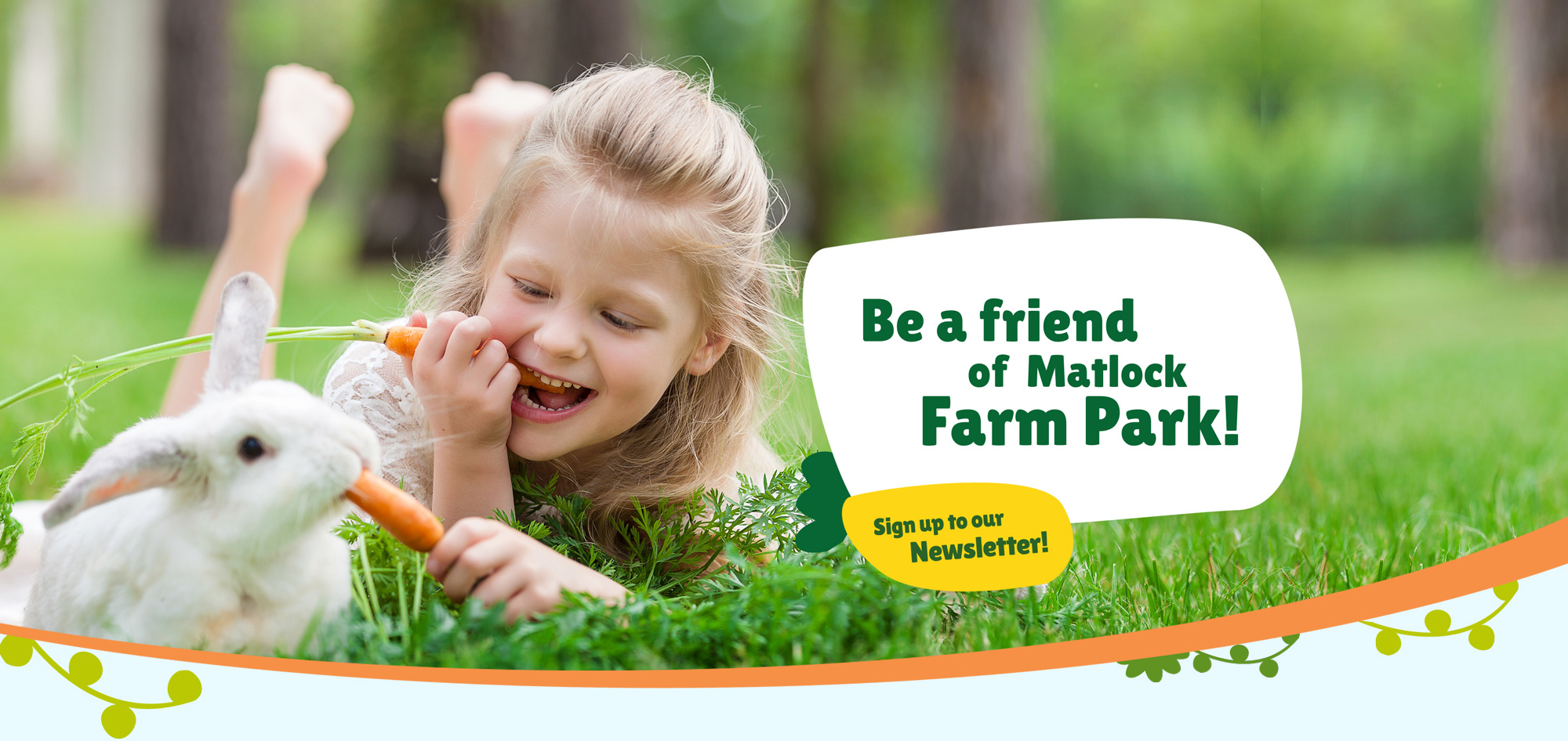 Be a friend of Matlock Farm Park